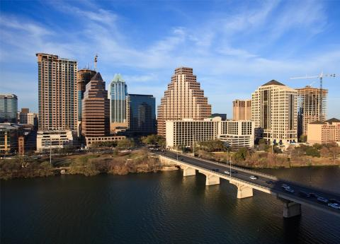 Skyline of Austin, Texas