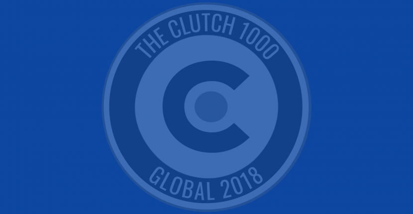 Clutch award logo